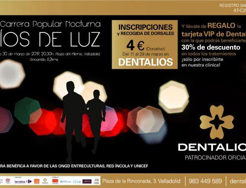 """DENTALIOS, orgulloso patrocinador de la VIII Carrera popular nocturna """"Ríos de Luz"""""""