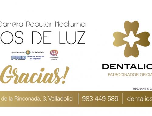 Dentalios estuvo apoyando la VIII edición de la exitosa carrera popular Ríos de Luz